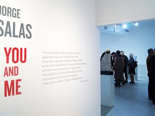 Visiting Sculptor Jorge Salas' Ascaso Gallery Exhibition